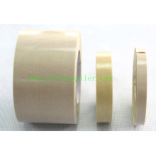 Premium PTFE Coated Fiberglass Tape- Silicone Adhesive Backing