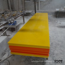 yellow & red color polyurethane faux stone wall panel