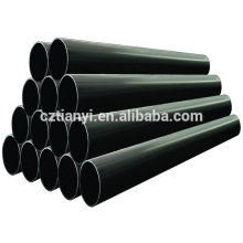 ASTM A252 Черная окраска сварных труб из углеродистой стали Пзготовителей