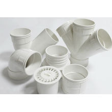 China Manufacture PVC Plastic Pipe Fittings