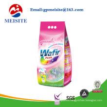 Strong Sealing Die Cut Handle Design Plastic Washing Powder Bags