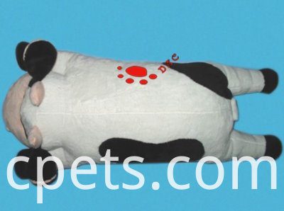 plush cow cushion