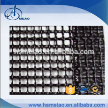 Tecido de malha de fibra de vidro revestido de PTFE preto livre de alcali