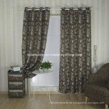 Top Trend Jacquard Blume Fenster Stoff Vorhang
