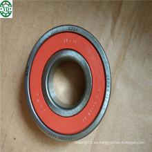 Rodamiento de bolitas profundo del surco rojo del sello de goma de 6204llu NTN Japón 20 * 47 * 14m m