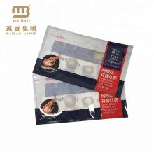 На Заказ Печатание Gravure Нетоксический Eco-Содружественная Жара-Герметизируя Мешок Пластичный Упаковывать Для Замороженных Продуктов