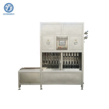 semi auto beer can bottle filling and capping machine