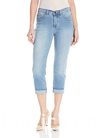534indigo Women S Ultra Soft Denim Capri Jean