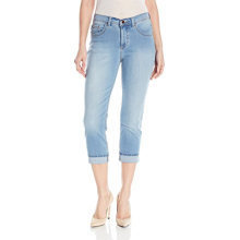 Indigo Γυναικεία Ultra Soft Denim Capri Jean