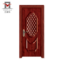 New Model Hot Sale Eco-Friendly Steel Wooden Apartment Door