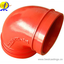 UL & FM Approved 90 Degree Grooved Elbow