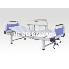 A-96 Cama de hospital manual de doble función