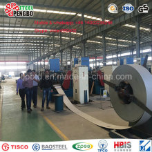 Bobina / tira 201/304 del acero inoxidable del grado con el molino / el borde que raja y superficie 2b