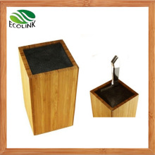 Bamboo Universal Cutlery Holder Knife Block