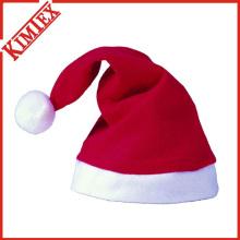 Chapéu clássico do Natal da promoção das alfânde