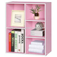Gabinete de archivo de madera, estantería de libro