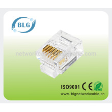Сетевой патч-корд rj45 8p8c utp connector