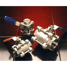 Válvulas de bola de acero inoxidable (SKSV001)