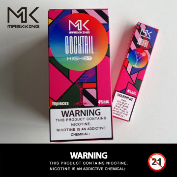 Pakistan Maskking 450puffs High GT