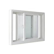 WANJIA modern PVC small sliding window impact uPVC windows