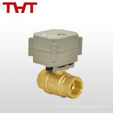 Válvula de parada de regulación de flujo de control eléctrico / válvula de control de agua / vapor