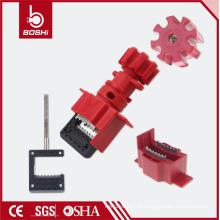 Bloqueio de válvula de esfera universal BD-F33 com cabo, bloqueio de válvula com certificação CE ROHS OSHA