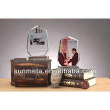 Sublimation Crystal Photo cadre pour cadeau de mariage