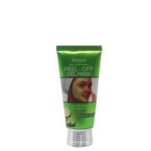 Tubo de tubo de alumínio plástico personalizado 50ml tubo de embalagem de cosméticos para a máscara