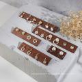 nouveau support de boucles d'oreilles de présentoirs de bijoux de mode