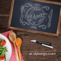 Wood board digital blackboard price breakfast chalkboard sign