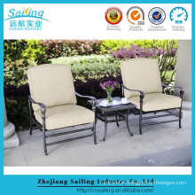 Lowest Price Patio Metal French Bistro Chairs Set