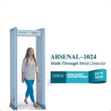 Airport Door Frame Body Scanner Metal Detector, Walkthrough Metal Detector for Security
