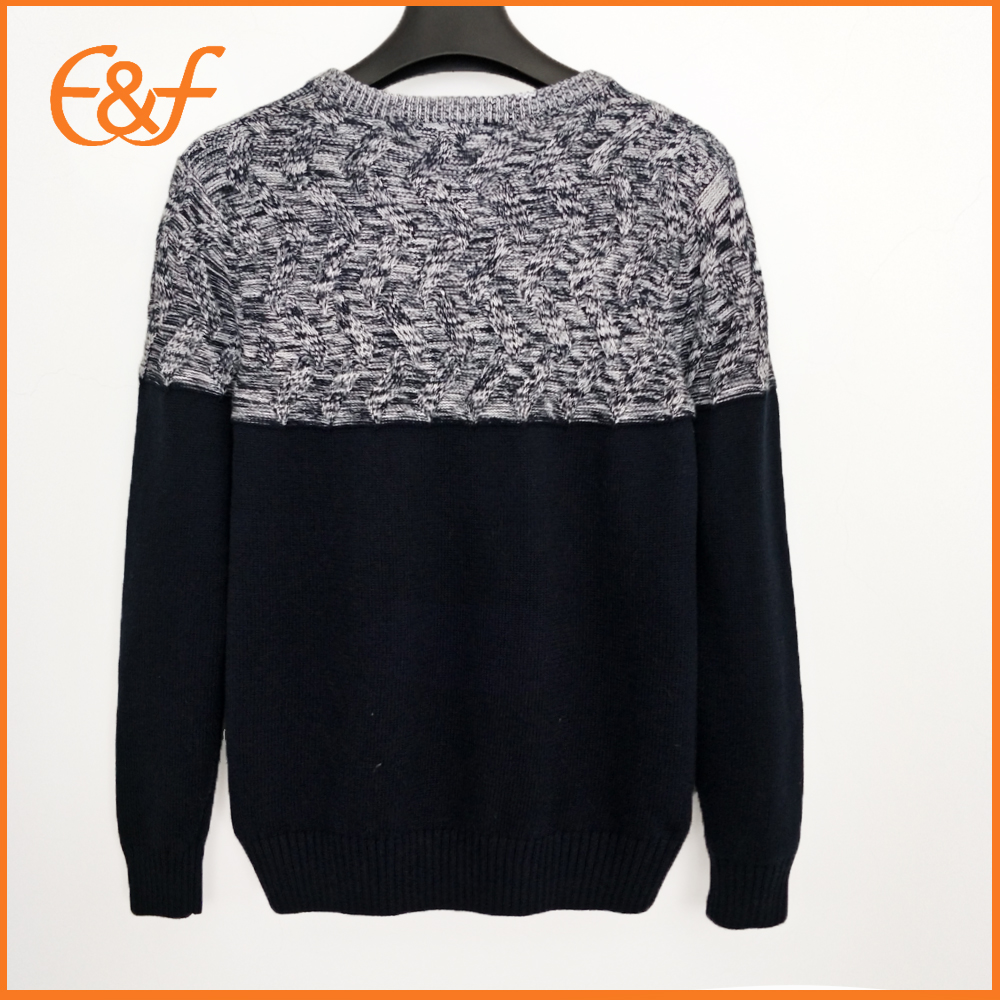 Fashion Winter Pattern Knitwear Sample Sweaters