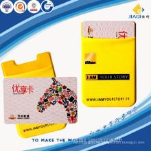 Werbe-Lycra klebrigen Silikon Handy-Kartenhalter
