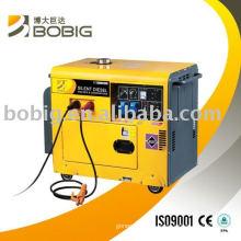Silent Diesel welder generators 190a