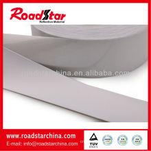 High intensity reflective elastic fabric