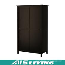 Armoires de chambre sur mesure en contreplaqué avec portes coulissantes (AIS-W257)
