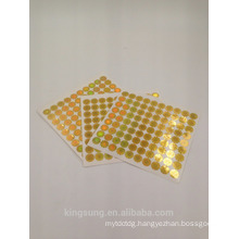Anti counterfeiting 3D holographic laser Security sticker