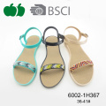Ladies Comfortable Flat Summer Cheap Sandals