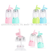 OEM High Quality Hbg Glass Beverage Bottle with Straw