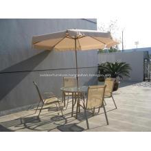 Outdoor Tilt Flap Crank Design Umbrella