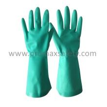 11mil Industrial Green Nitrile Glove