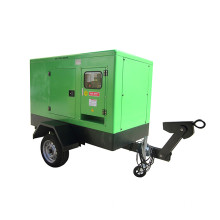 Generador Diesel Trailer Power Silent Type 280kW