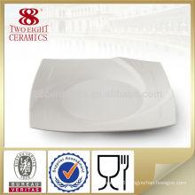 Ceramic dinnerware 10.5 ceramic heated square dinner plate