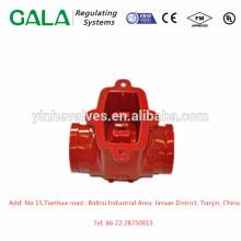 Moulage de corps de vanne anti-retour de moulage des métaux OEM de qualité supérieure pour gaz