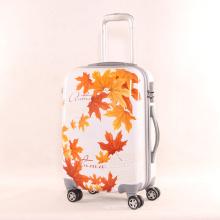 Mode-Taschen 20 Zoll 24 Zoll PC Kleine Frische Palette von Maple Leaf Pattern Universal Wheel Trolley