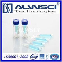 Fabrikverkauf Glaseinsätze für 2ml Glasflasche Agilent Autosampler Fläschchen