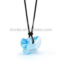 Vente en gros de bijoux en diamant bijoux en cristal transparent