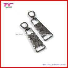 Outil de fermeture à glissière en métal à rayures personnalisé