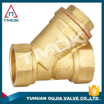 TMOK 2 '' filtro de latão resistente y filtro de padrão com aço inoxidável 304 filtro para água pumb